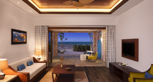Катар. Banana Island Resort Doha by Anantara. Anantara Sea View Suite