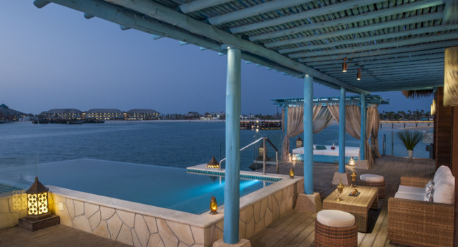 Катар. Banana Island Resort Doha by Anantara. Two Bedroom Overwater Villa