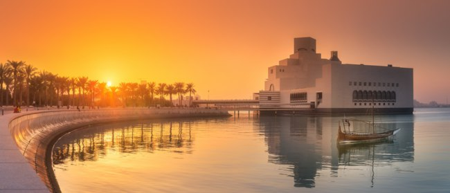 Катар. Доха. Музей исламского искусства. Museum of Islamic Art. Doha. Qatar. Фото boule1301 - Depositphotos