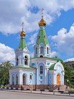 Екатеринбург. Temple of Our Lady Derzhavnaya Icon (Temple of the Reigning Icon of the Mother of God) in Yekaterinburg, Russia. Фото markovskiy - Depositphotos