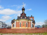 Золотое кольцо России. Александров. St. Seraphim of Sarov Church in Alexandrov. Фото irinabal18 - Depositphotos