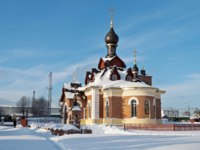 Золотое кольцо России. Александров. Church of St. Seraphim of Sarov in Aleksandrov town, Russia, winter time. Фото viknik - Depositphotos