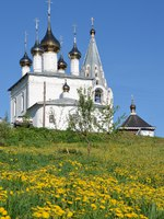 Золотое кольцо России. Гороховец. Holy Trinity Nicholas monastery l in Gorokhovets, Golden ring of Russia. Фото irinabal18 - Depositphotos