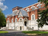 Гусь-Хрустальный. The Museum of crystal behalf Maltsov, located in St. George's Cathedral. Gus-Khrustalny, Vladimir region, Russia. Фото koromelena - Depositphotos