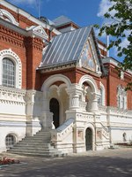 Гусь Хрустальный. The Museum of crystal behalf Maltsov, located in St. George's Cathedral. Gus-Khrustalny, Vladimir region, Russia. Фото koromelena - Depositphotos