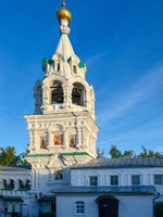 Золотое кольцо России. Муром. The bell tower of Holy Trinity nunnery of Murom, Golden ring of Russia. Фото Olga355 - Depositphotos