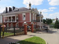 Россия. Мышкин. Музей мыши. Complex Myshkin house is built in the form mansion. Attractions in the town of Myshkin is dedicated to the mouse. Фото sarybakov-Dep