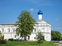 He church of the Praise of the Mother of God in the Holy Trinity Danilov monastery sunny summer day. Pereslavl Zalessky, the Golden ring of Russia. Фото sikaraha-Dep