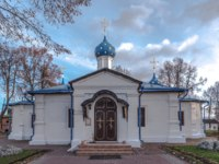 Feodorovsky convent. The church of the Entry Most Holy Theotokos into the Temple, is constructed in 1710. Pereslavl-Zalessky, Russia. Фото mosprofs - Depositphotos