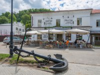 Золотое кольцо России. Плес. Summer cafe, Plyos, Ivanovo region. Фото svn48 - Depositphotos