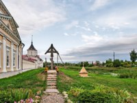 Россия. Ростов Великий. Троице-Варницкий монастырь. Trinity-Sergius Varnitsky Monastery, Rostov Veliky. The Golden ring of Russia. Фото Simanovskiy-Deposit