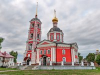 The Golden ring of Russia, a monastery of the Trinity-Sergiev Varnitsky, founded in 1427, city of Rostov Veliky. Фото Simanovskiy - Depositphotos