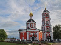 Россия. Ростов Великий. Троице-Варницкий монастырь. The Trinity Cathedral of the Life-Giving Trinity-Sergius Varnitsky Monastery Rostov. Фото MariMarkina-Deposit