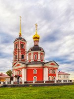 Россия. Ростов Великий. Троице-Варницкий монастырь. Bell tower of the Varnitsky monastery, Yaroslavl region, Russia. Фото owsigor53@gmail.com-Deposit