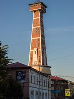 Россия. Рыбинск. Rybinsk. Fire tower in the art Nouveau style. 1912. the highest fire tower in Russia. Фото AleksandraRaspopina - Depositphotos