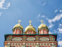 Сергиев Посад. Church of the Nativity of St. John the Baptist inTrinity monastery (Trinity Lavra of St Sergius) in Sergiyev Posad near Moscow (Golden Ring of Russia). Фото scaliger - Deposits
