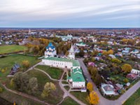 Золотое кольцо России. Суздаль. Top view of the Suzdal Kremlin. Suzdal. Vladimir region. Gold ring of Russia. Фото kotomiti - Depositphotos