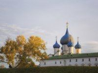 Золотое кольцо России. Суздаль. Suzdal Kremlin. Cathedral of the Nativity of the Virgin (XIII-XIX). Фото Lenorlux - Depositphotos