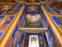 Суздаль. The ancient paintings of the Natuvity church inside. Suzdal, Russia. Фото giuseppemasci.me.com - Depositphotos