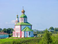 Суздаль. Церковь Ильи Пророка на Ивановой горе. Church of Elijah the Prophet. Suzdal. Фото alexey19781 - Depositphotos