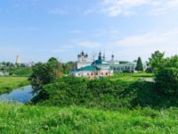 Золотое кольцо России. Суздаль. The city of Suzdal, the Golden ring of Russia, views of the city. Фото Simanovskiy - Depositphotos