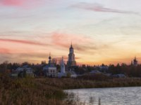 Золотое кольцо России. Суздаль. Church in Suzdal in sunrise. Gold ring of Russia. Фото Lenorlux - Depositphotos
