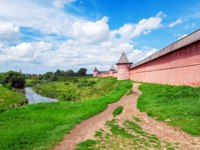 Спасо-Евфимиев монастырь Суздаля. Monastery of Saint Euthymius Wall, UNESCO World Heritage Site, Suzdal, Russia. Фото Rostislavv - Depositphotos