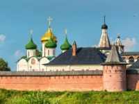 Спасо-Евфимиев монастырь Суздаля. The Saviour Monastery of St. Euthymius in Suzdal, the Golden Ring of Russia. Фото Leonid_Andronov - Depositphotos
