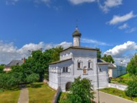 Спасо-Евфимиев монастырьGate Church of the Annunciation of Monastery of Our Savior and St Euthymius in Suzdal town in Vladimir oblast of Russia. Фото demerzel21-Deposit