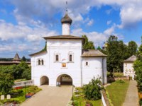 Спасо-Евфимиев монастырь Суздаля. The Annunciation Gate Church in Suzdal, the Golden Ring of Russia. Фото deb-37 - Depositphotos
