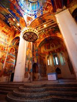 Спасо-Евфимиев монастырь Суздаля. Frescoes inside the Transfiguration Cathedral in The Saviour Monastery of St. Euthymius. Фото JuliaSha - Depositphotos