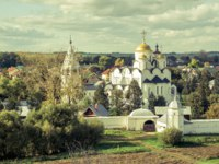 России. Суздаль. Покровский монастырь. Convent of the Intercession (Pokrovsky monastery) in the ancient town of Suzdal, Russia. Golden Ring of Russia. Фото scaliger-Deposit