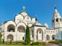 Золотое кольцо России. Суздаль. Покровский монастырь. Cathedral of the Intercession of the Theotokos in Suzdal, the Golden Ring of Russia. Фото Leonid_Andronov-Deposit