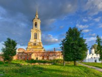 Суздаль. Ризоположенский монастырь. The Cathedral of the Deposition of the Robe (Rizopolozhenskiy Cathedral) in Suzdal, Russia. Фото demerzel21 - Dept