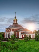 Золотое кольцо России. Суздаль. Church Florus and Laurus, Mihali, Suzdal, Vladimir Oblast, Russia. Фото BestPhotoStudio - Depositphotos