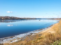 Золотое кольцо России. Тутаев. The Volga river near the town of Tutaev, Yaroslavl region. Фото svn48 - Depositphotos