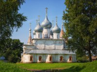 Россия. Тутаев. Крестовоздвиженский собор. Holy cross Cathedral. Tutaev, Russia. Фото Lenorlux - Depositphotos