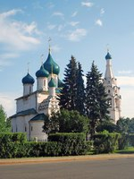 Church of Elijah the Prophet in Yaroslavl (Russia) famous by its original 17th century frescoes. UNESCO World Heritage Site. Фото Nevakalina - Depositphotos