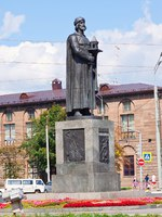 Золотое кольцо России. Ярославль. Monument of Yaroslav the Wise in Yaroslavl. Russia. Фото Jim_Filim - Depositphotos