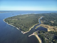 Золотое кольцо России. Ярославль. Drone aerial view on Yaroslavl and river Volga, Russia. Drone view. Фото detukov_sergey - Depositphotos