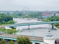 Золотое кольцо России. Ярославль. Summer view of the bridges over the Kotorosl river. Yaroslavl, Russia. Фото koromelena.yandex.ru - Depositphotos