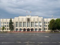 Золотое кольцо России. Ярославль. Yaroslavl region administration building in the center of Yaroslavl. Golden ring of Russia. Фото koromelena.yandex.ru - Depositphotos