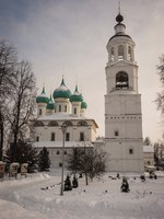 Россия. Ярославль. Толгский монастырь. Image of Spaso Vvedensky Tolga Women's Monastery in the Yaroslavl Region, Russia. Фото sietevidas - Depositphotos