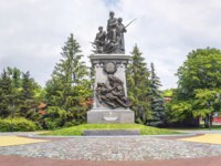 Россия. Памятники Калининграда. Monument to the heroes of the First World War. Kaliningrad, Russia. Фото Belikart - Depositphotos