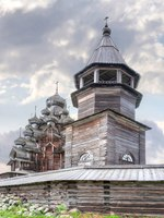 Клуб путешествий Павла Аксенова. Россия. Карелия. Остров Кижи. Kizhi. Ancient church of Transfiguration. Фото ppl1958 - Depositphotos