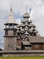Клуб путешествий Павла Аксенова. Россия. Карелия. Остров Кижи. Old russian wooden Church of Lord's Transformation-Karelia, Kizhi island. Фото Gargonia-Dep