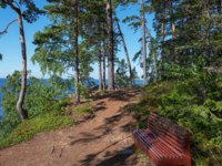 The shore of the skete of Alexander Svirsky_2. The wonderful island Valaam is located on Lake Lodozhskoye, Karelia. Фото GeneralSky-Depositphotos