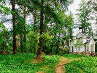 Карелия. Остров Валаам. Skete in the Valaam island, Karelia in Russia. Фото erix2005-Depositphotos