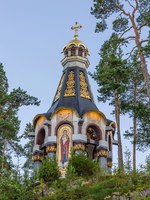 Карелия. Остров Валаам. Chapel Valaam icon of the Mother of God.Valaam orthodox Savior-Transfiguration Monastery. Island. Ladoga lake. Фото A_Mikhail-Deposit