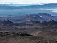 Россия. Камчатка. Kamchatka Peninsula series of cinder cones and lava fields of fissure eruptions Plosky Tolbachik Volcano. Kamchatka, Klyuchevskaya Group. Фото